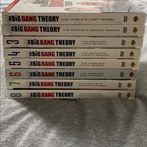 Big Bang theory 1-8 season